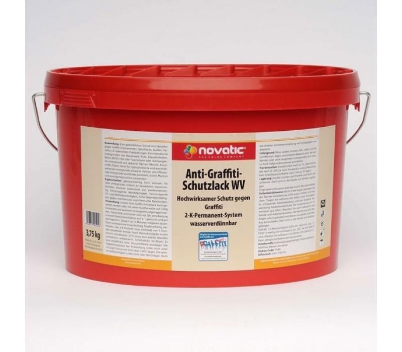 novatic Anti-Graffiti-Schutzlack 2K wasserverdünnbar - 5kg