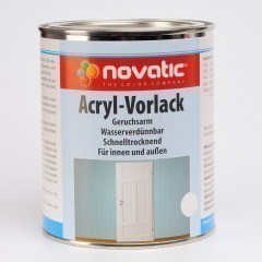 novatic Acryl-Vorlack AG80 - RAL7040 Fenstergrau - 750ml