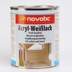 novatic Acryl-Weißlack AD26 - weiß