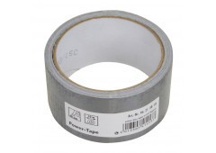 Gewebe-Reparaturband silber, 48mm x 10m - Power-Tape